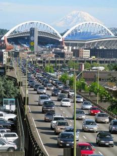 Trafico en Seattle