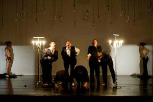 """Probe von """"This is theatre how it was to be expected"""" von Jan Fabre"""