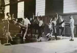 Riccardo Nunez insegna allo stage di Nervi (1983)
