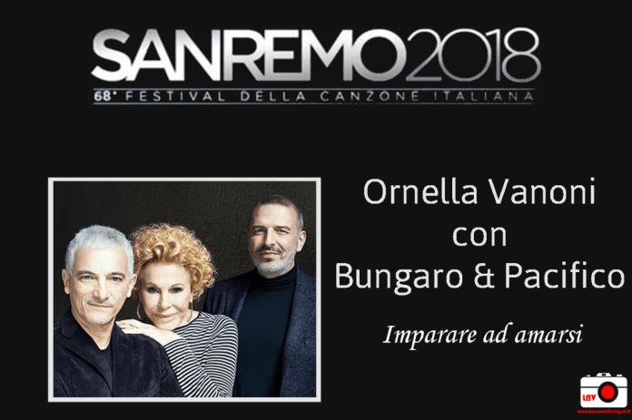 Festival di Sanremo 2018 - I Campioni - Ornella Vanoni con Bungaro e Pacifico