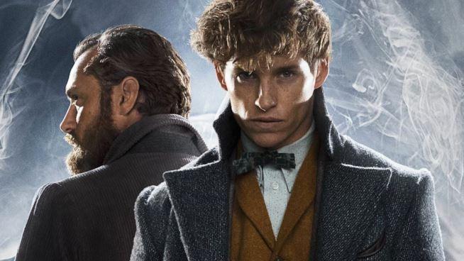 I crimini di Grindelwald - Jude Law e Eddie Redmayne nei panni di Albus Silente e Newt Scamander