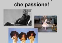 Danza e cinema, che passione