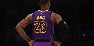 【NBA】湖人队球星勒布朗·詹姆斯渴望重返篮坛