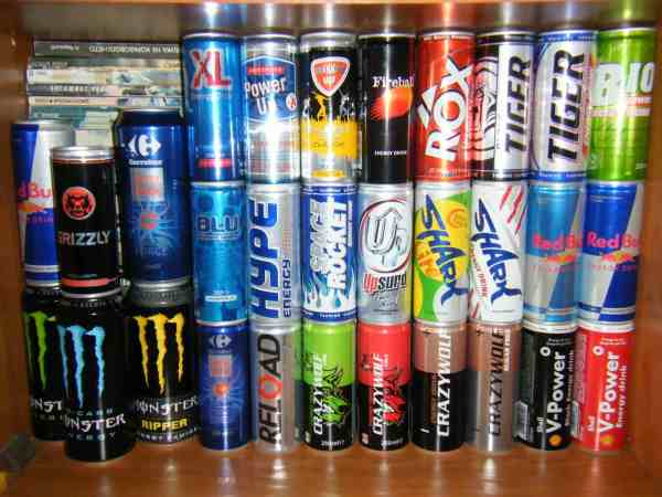 Energy Drinks Products
