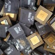 Cpu Ceramic Processor Scrap