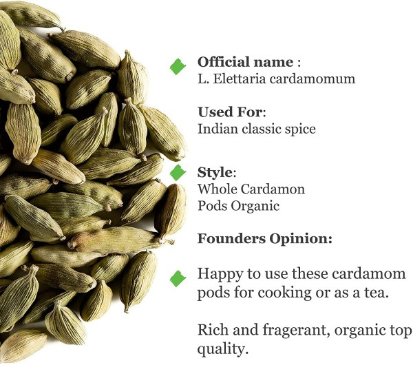 Whole Green Cardamom Pods