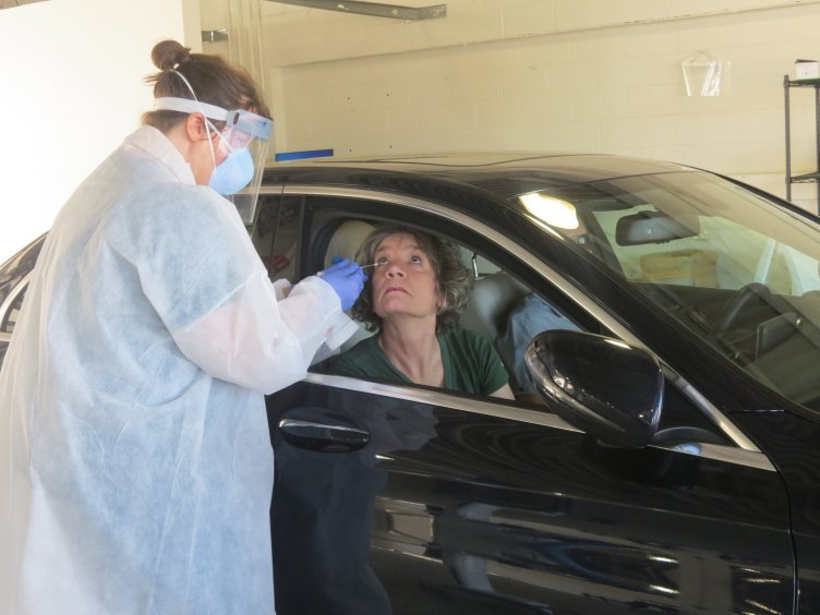 Sparrow COVID test a breeze, says Ingham County's health officer ...