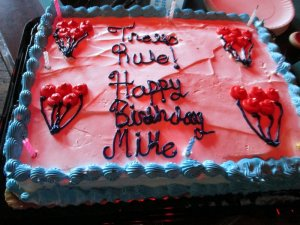 Mike's cake