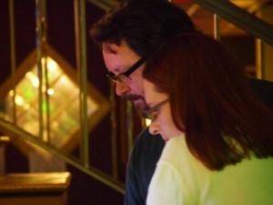 Matt and Kristen (closeup).