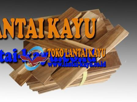 lantai kayu jati kw2 ukuran 25cm