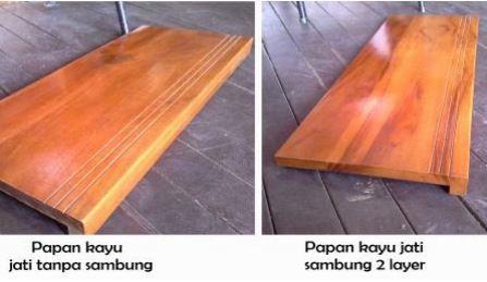 harga lantai kayu papan tangga
