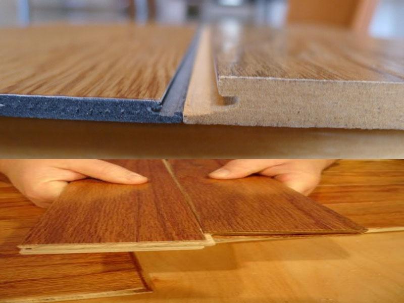 menilai perbedaan lantai kayu, vinyl & laminate