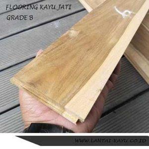 lantai kayu parket flooring jati Grade B