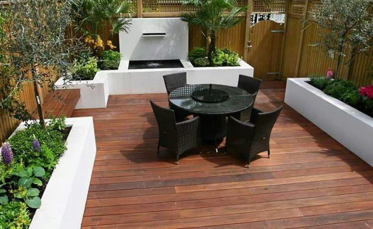 Tipe lantai Kayu Solid Decking