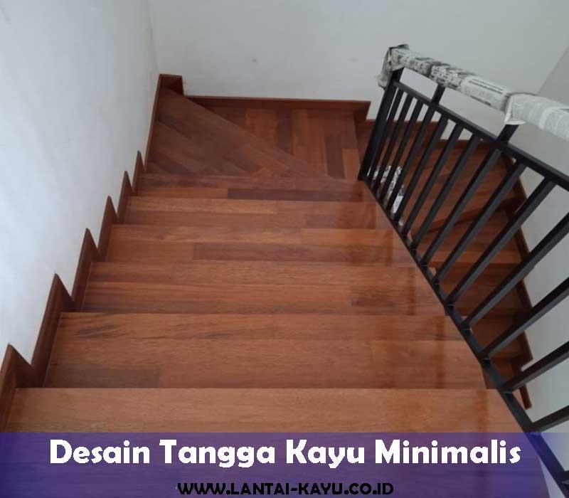 Rekomendasi model tangga kayu minimalis