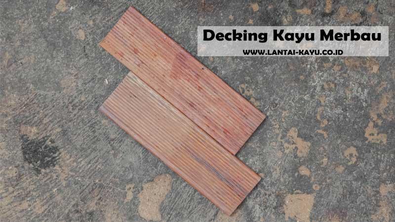 kayu merbau dapat dijadikan sebagai bahan baku pembuatan dermaga