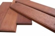 Lantai kayu merbau di denpasar