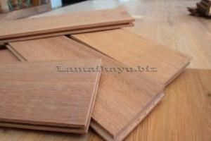Lantai kayu bengkirai pekanbaru