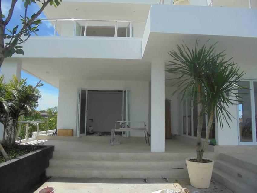 Pemasangan Lantai Kayu Villa Rolf Uluwatu