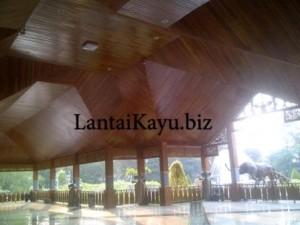 masangan plafon kayu di purwakarta