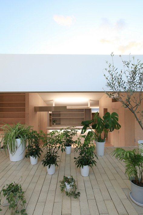 desain rumah kayu pada teras
