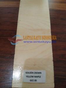 Harga lantai kayu laminated Golden crown