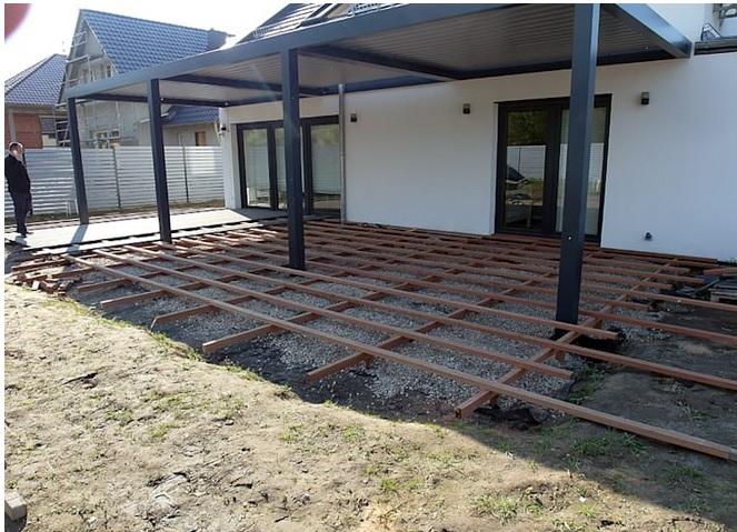 5 langkah membuat teras rumah pakai lantai kayu