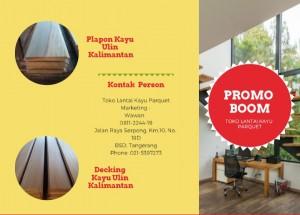 Promo Decking Kayu Ulin Kalimantan
