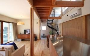lantai kayu cocok disemua ruangan