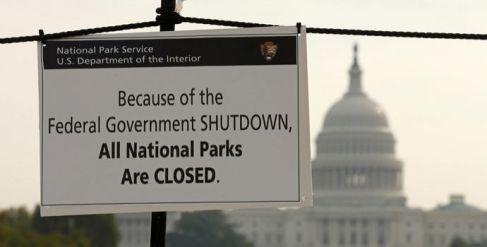 Risultati immagini per shutdown usa
