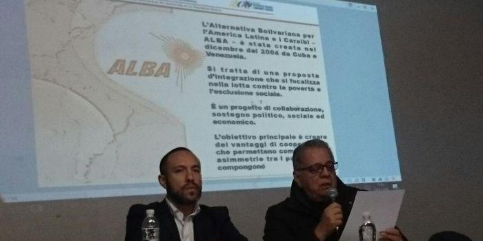 Ambasciatore del Venezuela in Italia: «ALBA modello alternativo alla crisi del capitalismo»