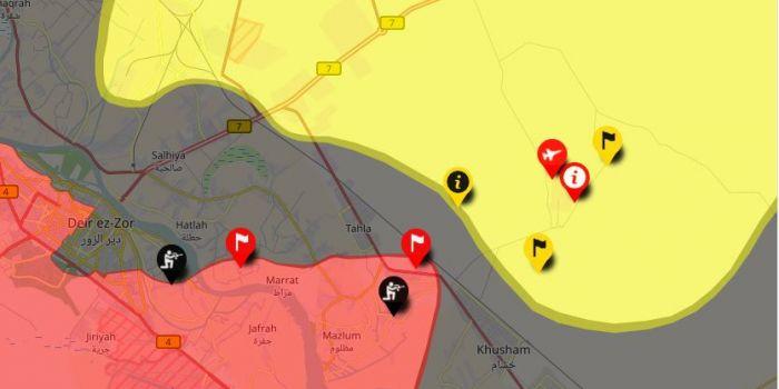 La Siria blocca l'accesso agli alleati degli USA ai giacimenti petroliferi di Deir Ezzor
