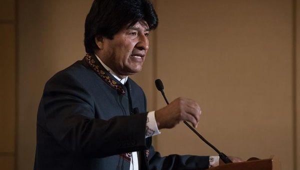 Evo Morales: Grazie alla lotta del popolo, la Bolivia ha ora la sua sovranità politica ed economica