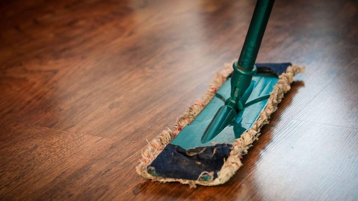 limpiar la casa después de una reforma de hogar