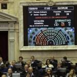 LA CAMARA DE DIPUTADOS APROBO LA NUEVA LEY QUE REGULA EL FINANCIAMIENTO DE LOS PARTIDOS POLITICOS