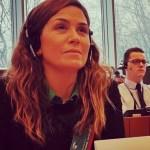 JIMENA LOPEZ PARTICIPO DE UN DEBATE EN EL PARLAMENTO EUROPEO