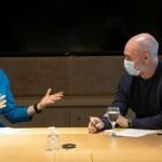 El encuentro de Horacio Rodríguez Larreta con una funcionaria de la Embajada de Estados Unidos