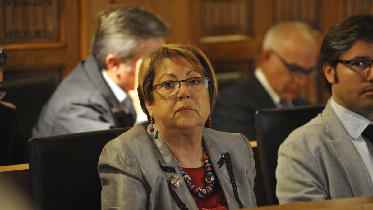 Paz Díez, exalcaldesa de Mansilla y exdiputada provincial, ahora imputada. | DANIEL MARTÍN