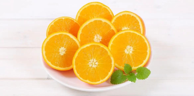 orange oranges pressees