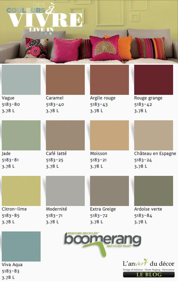 Palette De Couleur Peinture Rona Eco | Unixpaint