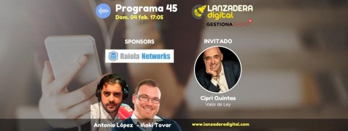 Cipri Quintas Radio Podcaste Entrevista