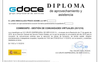 Nueva certificación – Gestión de Comunidades Virtuales