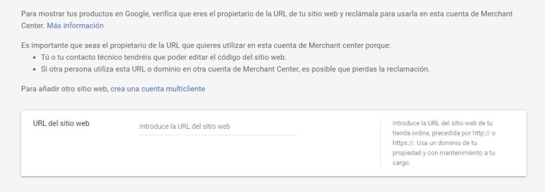 como VERIFICAR url ddominio SITIO WEB EN MERCHANt CENTER PASO A PASO