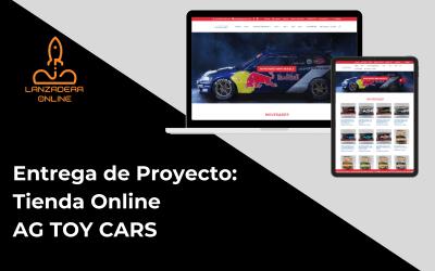 Entrega de proyecto: Tienda Online AG TOY CARS