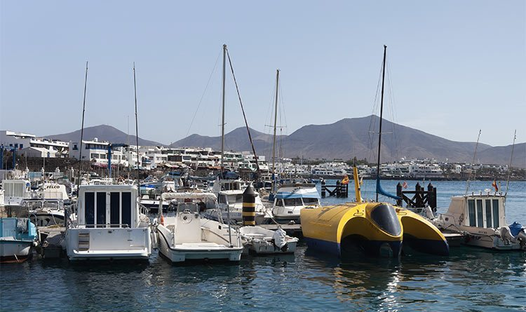 playa blanca harbour