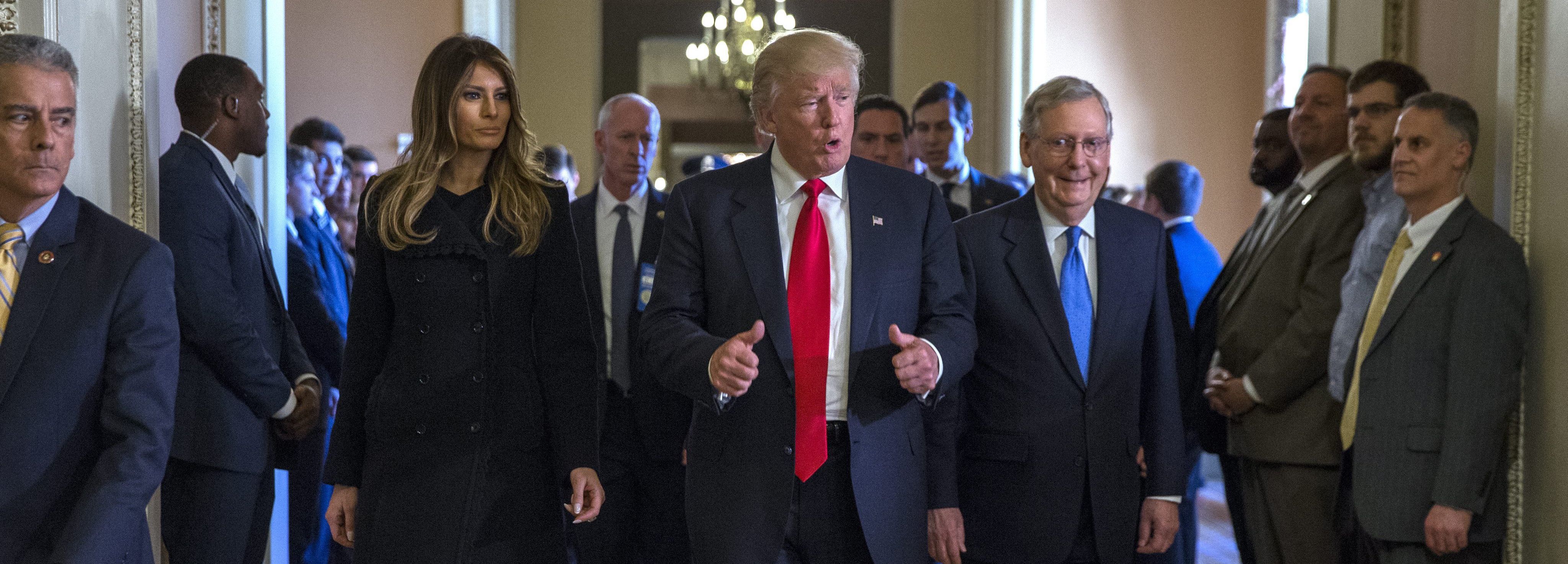 Image result for PHOTOS OF REPUBLICAN LEADERS AND TRUMP