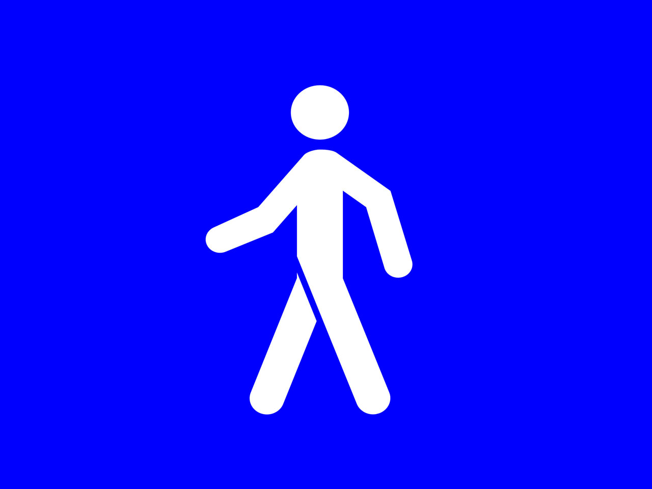 Calls For Signs Warning Drivers Of Pedestrians And