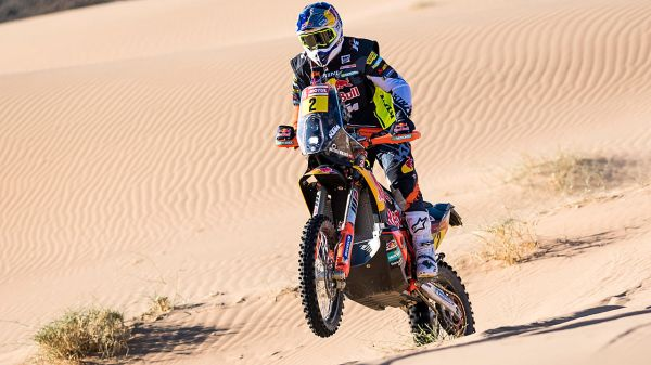 Rallye Dakar: Walkner fällt auf 2. Etappe zurück