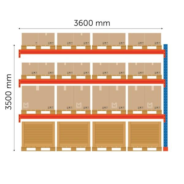 Boracs kaubaaluse jätkuosa 3500x3600mm