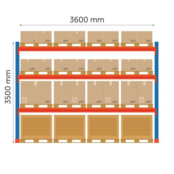 Boracs kaubaaluse põhiosa 3500x3600mm